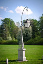 Street lamp on Elagin island Stock Photography