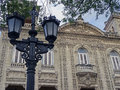 Street Lamp and Havana House Royalty Free Stock Photo