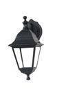 Street lamp isolated Royalty Free Stock Photo