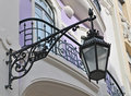 Street lamp at Lisbon Royalty Free Stock Images