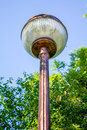 Street lamp an modern style Royalty Free Stock Photo
