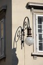 Street lamp in Trieste Royalty Free Stock Photos