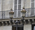 Street Lamps in Paris Royalty Free Stock Photography
