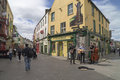 Street life Galway, Ireland Royalty Free Stock Photo
