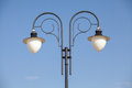Street light lamp post Royalty Free Stock Photo