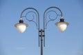 Street light lamp post Royalty Free Stock Photo