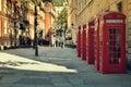 Street in London Royalty Free Stock Photo