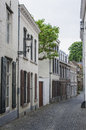 Street in maastricht the netherlands medieval Stock Photography