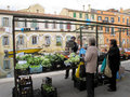 Street market  in Italy Stock Photos