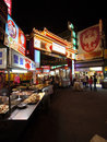 Street market of Taipei Taiwan Royalty Free Stock Photography