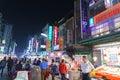 Street market of Taiwan