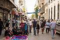 Street market in Tunis Stock Photos