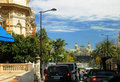 Street of Monte-Carlo Stock Images