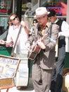 Street musicians Royalty Free Stock Photos