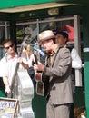 Street musicians Royalty Free Stock Photo