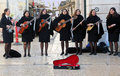 Street Musicians. Royalty Free Stock Photos