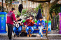 Street Musicians Royalty Free Stock Photo