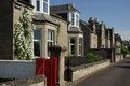 Street in Nairn, Scotland Royalty Free Stock Images