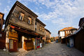 Street in Nesebar Stock Photo