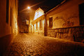 Street in night Royalty Free Stock Image