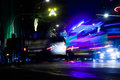 Street night in Bangkok Royalty Free Stock Photo