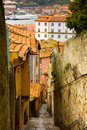Street in old town of Porto, Portugal Stock Photography