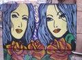 Street painting art, Latvia