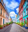 Street in Paris Royalty Free Stock Photo