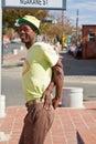Street Performance near Mandela's house Stock Photos