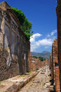 Street of Pompeii Royalty Free Stock Photos