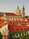 Street of prague picture the old town Royalty Free Stock Photography