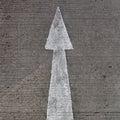Street, road, arrow Royalty Free Stock Photo