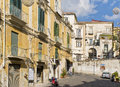 A Street in Salerno Italy Royalty Free Stock Photography