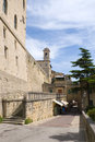 Street of San Marino Stock Image