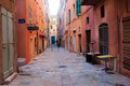 Street Scene, Bastia Royalty Free Stock Photo