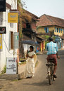 Street scene from Cochin, South India Stock Photo