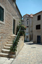 Street scene croatia Stock Photography