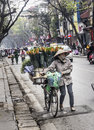 Street seller, Hanoi Royalty Free Stock Photo