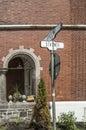Street sign Westmount
