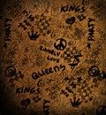 Street style grunge background Royalty Free Stock Photo