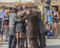 Street theater kamchatka in krakow festival ulica art http www kamchatka cat the show php Royalty Free Stock Photos