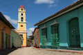 Street of trinidad cuba february old town is a historical town listed by unesco as world heritage it is full Royalty Free Stock Images