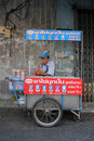 Street Vendor in Bangkok Royalty Free Stock Image