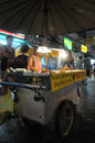 Street Vendor in Bangkok Royalty Free Stock Images