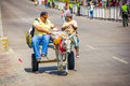 Street vendors in colombia s most important barranquilla february folklore celebration the carnival of barranquilla Royalty Free Stock Image