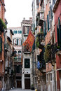 Street in venice Stock Photos
