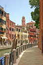 Street in Venice Stock Image