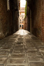 Street in venice a sidestreet italy europe Stock Photos