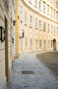 Street in Vienna's historical downtown Royalty Free Stock Images