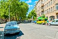 Street view in bergmannstrasse kreuzberg district berlin germany june on june is one of s cultural centers the Stock Images